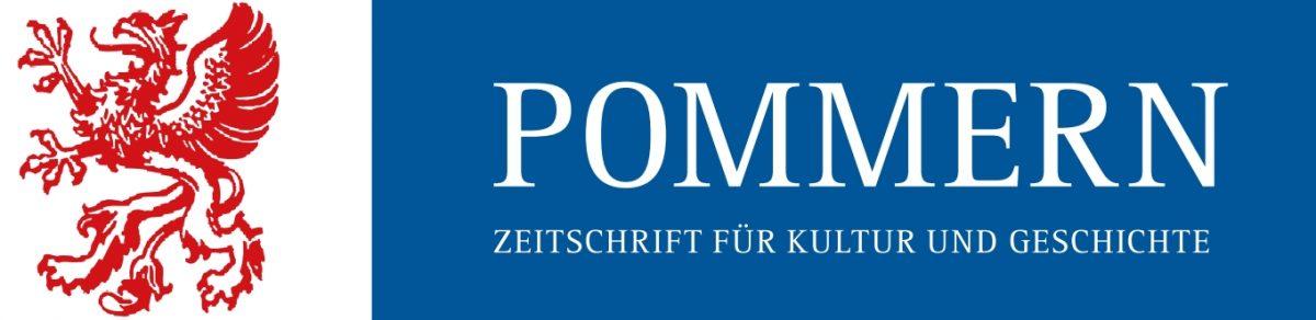 POMMERN  – Zeitschrift für Kultur und Geschichte
